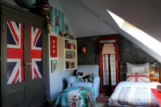 17 best images about union jack flag on pinterest couch for Union jack bedroom ideas