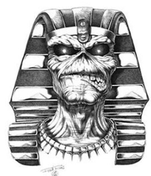 Powerslave Pharaoh Eddie