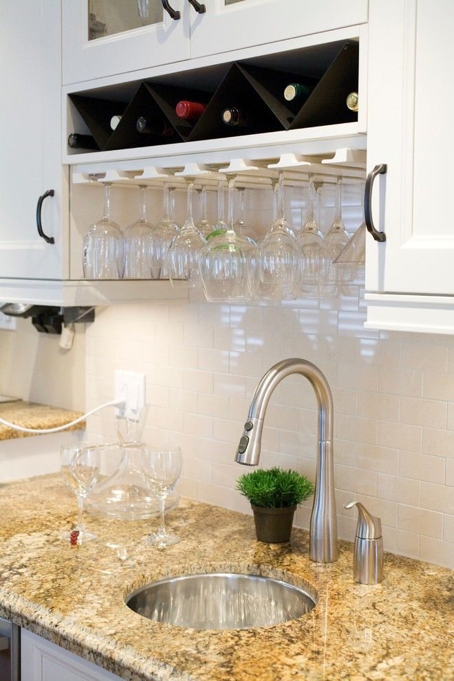 Wine Glass Storage Cellar Transitional with Rack Contemporary Beer and Refrigerators