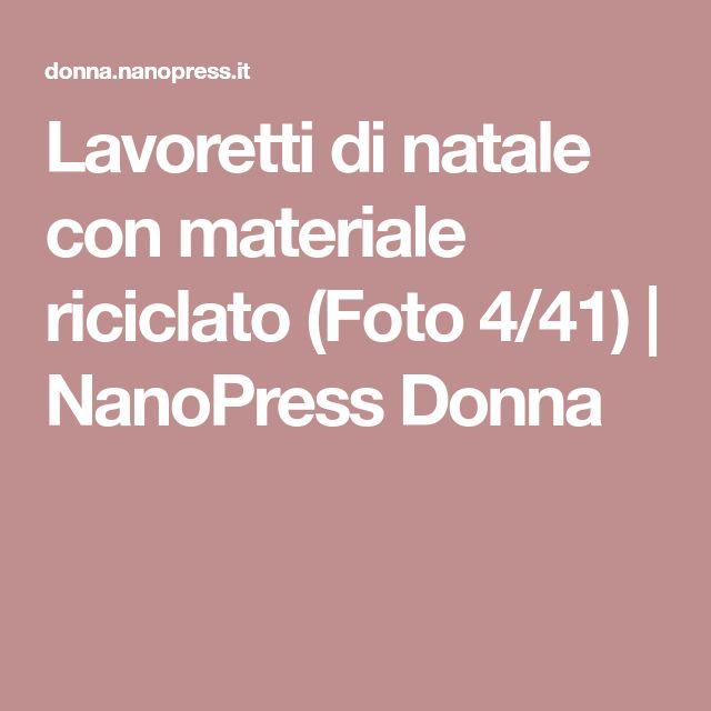 Lavoretti Di Natale Con La Lana Foto Nanopress Donna
