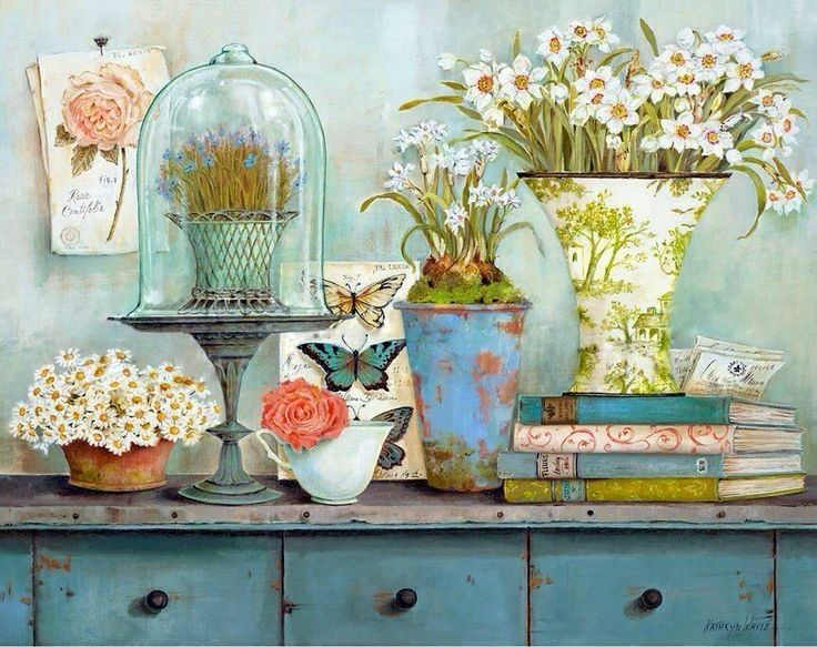 Vintage Collectables I (Kathryn White)