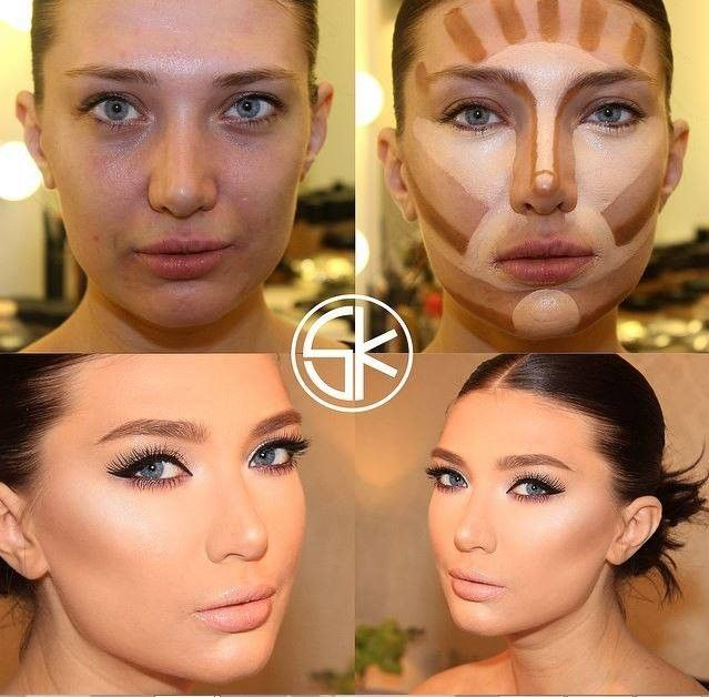 Megmutatjuk nektek az összes létező arcformát és a hozzájuk tartozó tökéletes sminkelés minden csínját - bínját teljesen egyértelműen és részletesen fotókkal lépésről lépésre. Nincs szükséged többé profi sminkesre, mikor Te magad is az lehetsz :) Próbáljátok ki Ti is! :) 5
