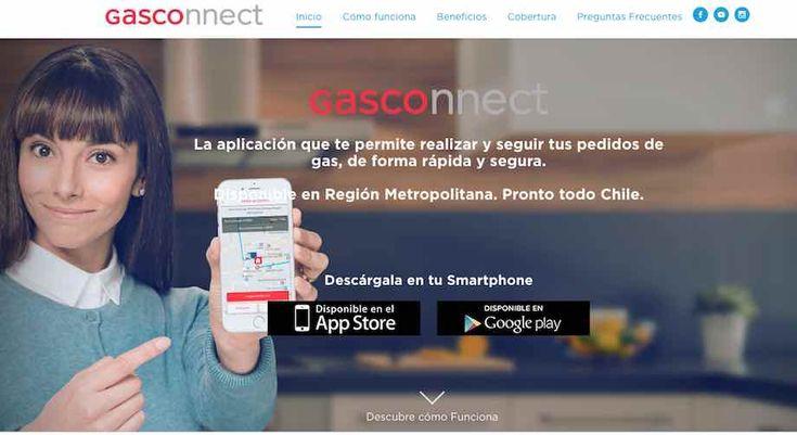 Gasco presentó Gasconnect, una idea que disminuye tiempos de entrega y un mayor control en el pedido del gas.