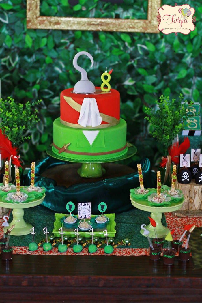 Peter Pan Themed Birthday Party