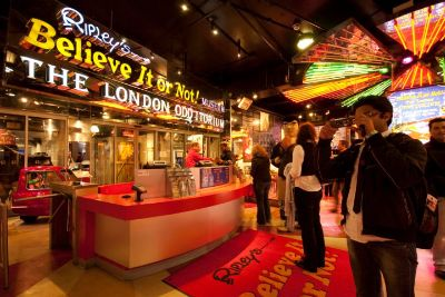 With one of the most extensive collections of the weird and wonderful, Ripley's Believe It or Not! London is the perfect day out for all the family.