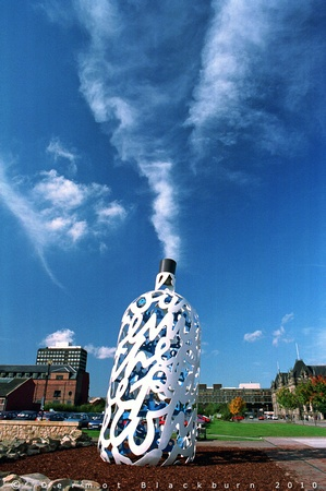 Fresh The Bottles of Notes by Claes Oldenburg