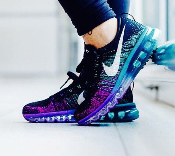 Nike Running Shoes Teal
