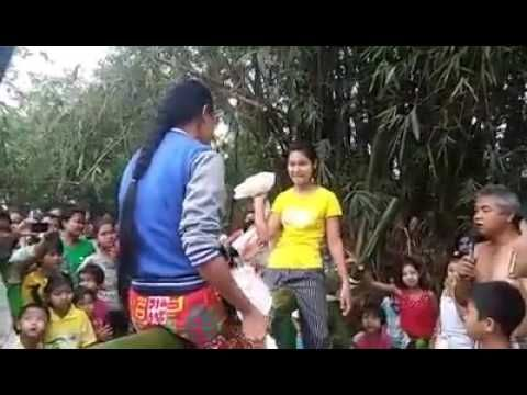 MYANMAR GIRLS TAKE PART IN GAME CELEBRATED IN MYANMAR INDEPENDENCE DAY  ...