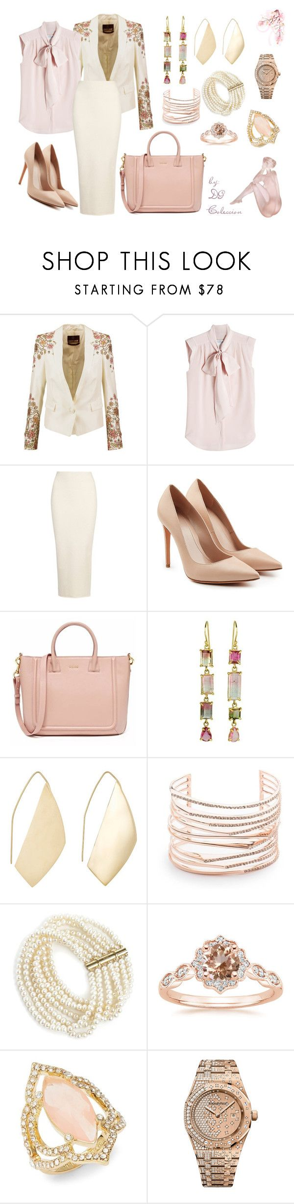 """""""Untitled #234"""" by iamgae on Polyvore featuring Roberto Cavalli, MaxMara, Yeezy by Kanye West, Alexander McQueen, Ana Khouri, Alexis Bittar, Annoushka, Kate Spade, Audemars Piguet and Daum"""