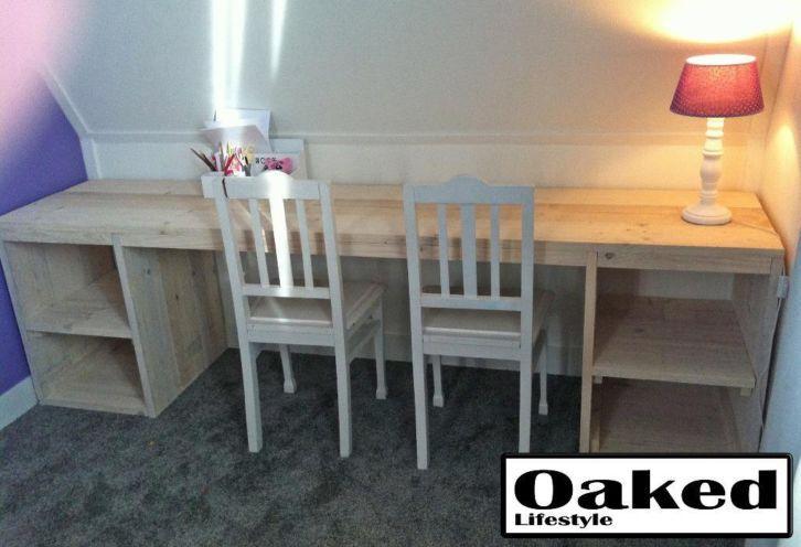 Leuk bureau van steigerhout met kast : http://link.marktplaats.nl/858415397