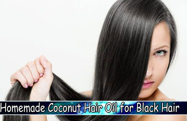 Homemade Coconut Hair Oil for Black Hair