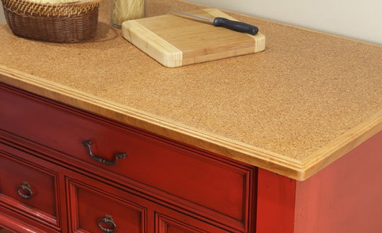 Suberra cork composite butcherblocks countertops cork Cork countertops