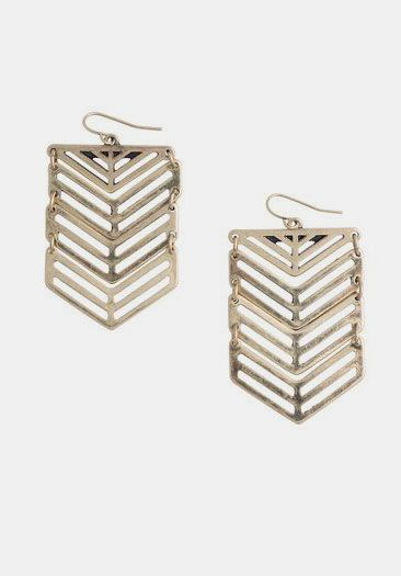 Swift Chevron Earrings