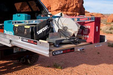 CargoGlide 1000 Series Aluminum Truck Bed Slide.  Spendy, though...