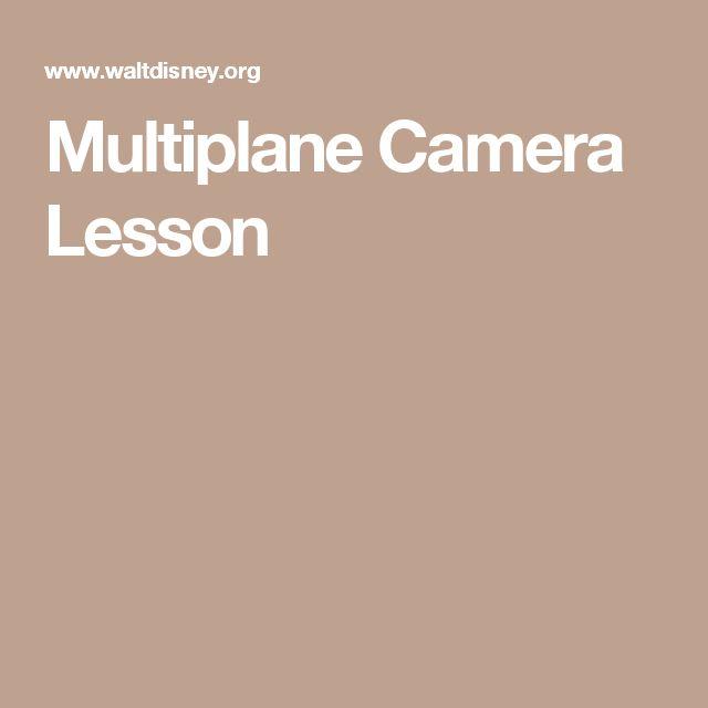 Multiplane Camera Lesson