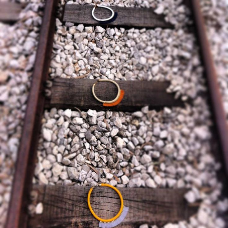 My Necklaces @ an old railway Station