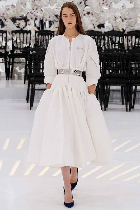 Christian Dior Fall 2014 Haute Couture Show