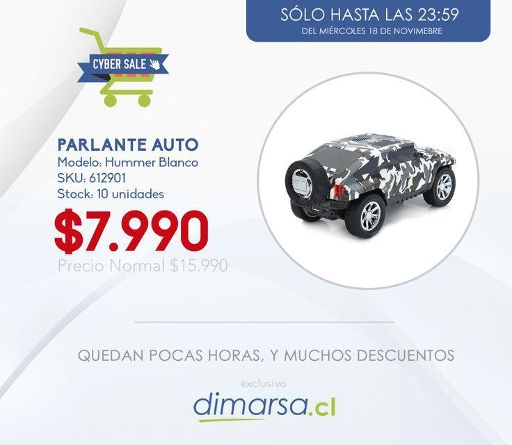 Parlante Hummer USB a MITAD DE PRECIO. Compralo aquí ➝ http://bit.ly/autoparlante