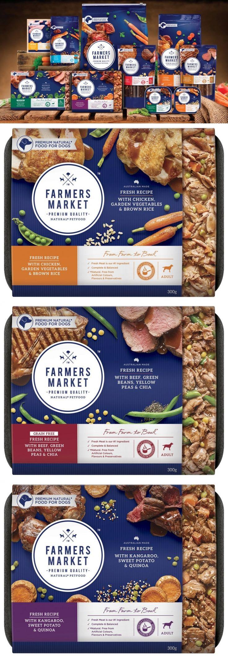 FARMERS MARKET Natural Pet Food — The Dieline - Branding & Packaging Design