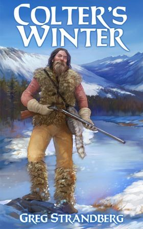 I've got a new map for my upcoming mountain man novel, Colter's Hell. It follows John Colter as he traveled alone in 1807-8.