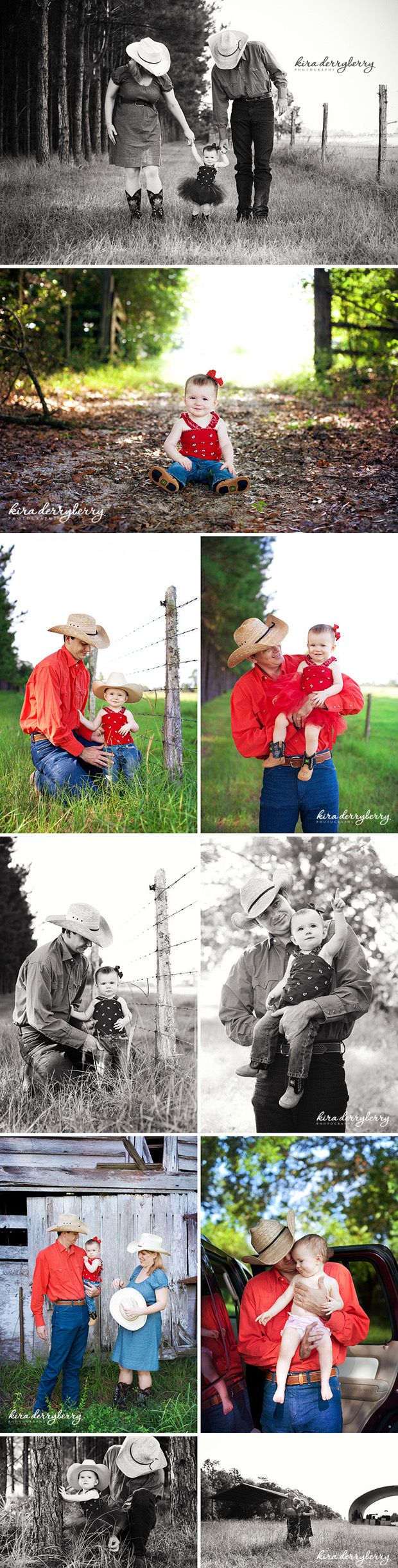 Daddy's Little Cowgirl | Tallahassee Family Photography