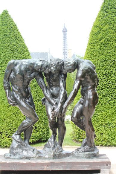 Three Fates, Rodin Museum, Paris