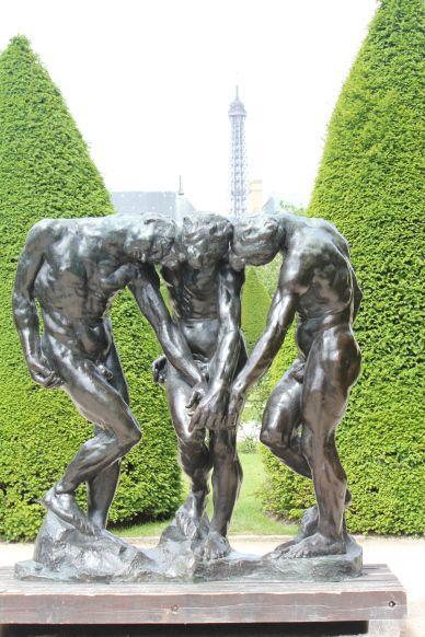 Three Fates, Rodin Museum, Paris