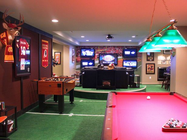 10 Must Have Items For The Ultimate Man Cave Pool Table Room Man Cave Home Bar Game Room Basement