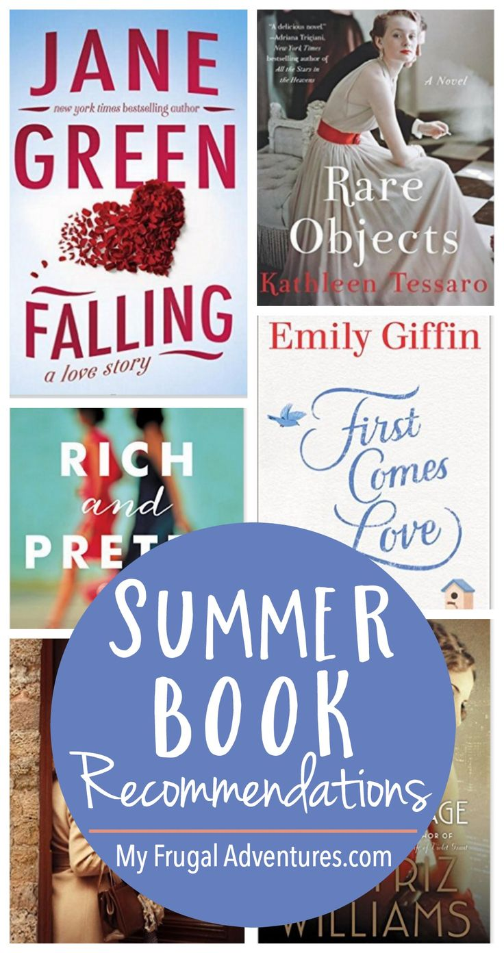 Summer Book Recommendations Tons Of Ideas For Beach Reading This Summer  So Many Amazing
