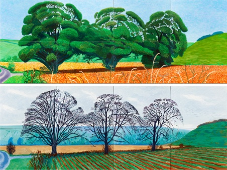 David Hockney is famous for his brilliant Yorkshire landscapes. Why not see for yourself the landscape that inspired him?