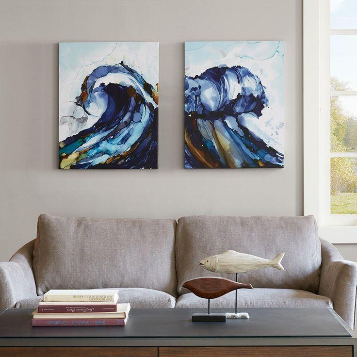 Liquid Waves Art 2-Piece Set                                                                                                                                                                                 Mehr