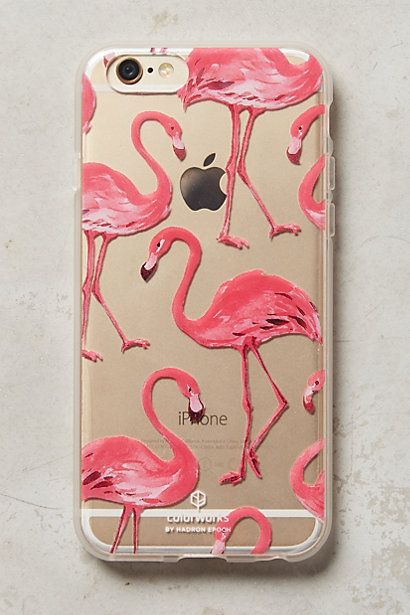 Pink Flamingos iPhone 6 Case #anthropologie