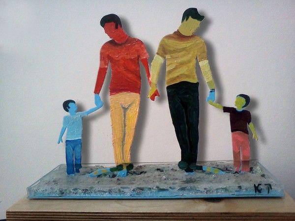 famiglia moderna by Konstantin Kachkachev on ARTwanted