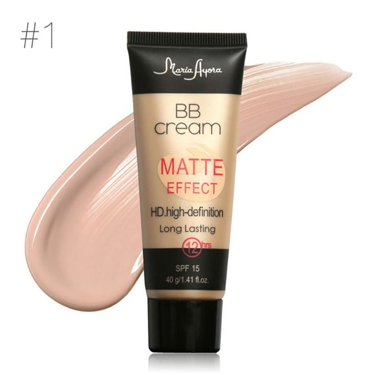 1PCS Professional Make Up SPF 15 Sun Block Matte BB Cream Natural Long Lasting Face Concealer Makeup BB Cream