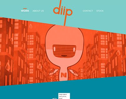 "Check out new work on my @Behance portfolio: ""Diip Studio web design"" http://be.net/gallery/32293957/Diip-Studio-web-design"