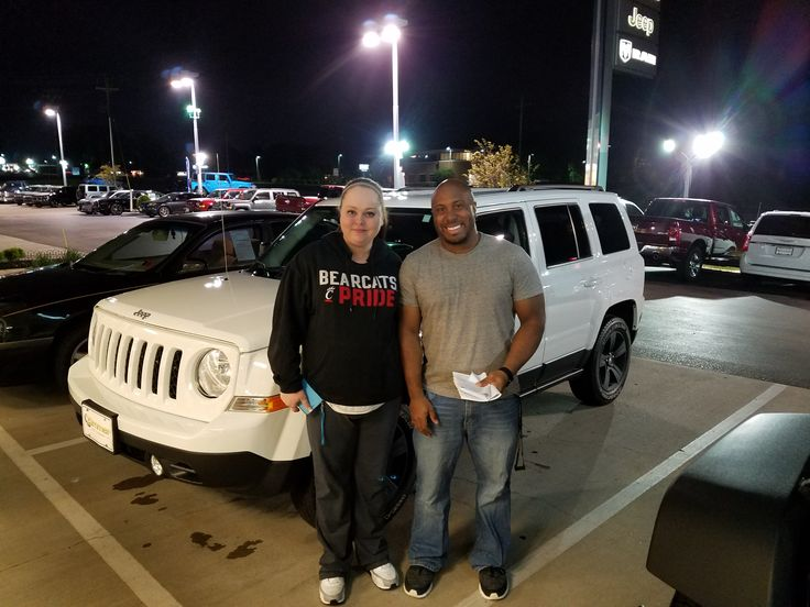 Congratulations to Cait and Josh Cox on their new 2014 Jeep Patriot! Sales consultant Vince Vlaisavich took care of all of the paperwork and everyone had a smile on their faces. Thank you both for your business and we look forward to taking care of you for years to come! www.zimmermotors.com