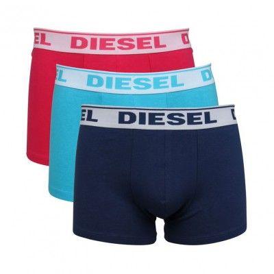 Diesel Umbx Shawn 3 Pack Boxer Trunk Underwear, from ApacheOnline