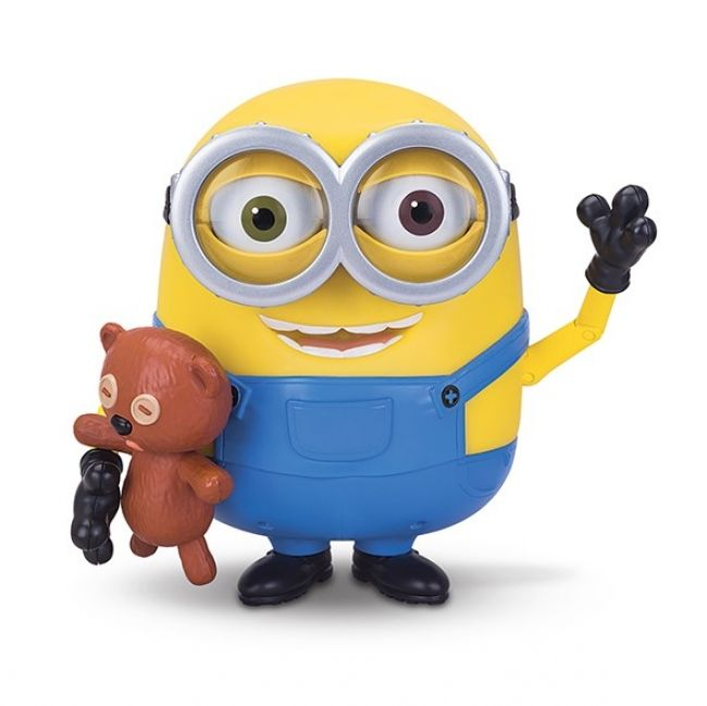 Enter to win: Win a Minions Talking Bob with Teddy Bear RRP $100! | http://www.dango.co.nz/s.php?u=GF7bSC693604