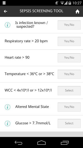 This app is a collaboration between NHS Education for Scotland (NES) and the Scottish Patient Safety Programme (SPSP) - it provides: <p>A National Early Warning Scoring System (NEWS) calculator to alert clinicians to the deteriorating patient and acute illness <p>A Sepsis Screening tool for the prompt recognition and the timely initiation of treatment of patients with Sepsis. <p>An outline of the Sepsis 6 care bundle for the treatment of Sepsis <p>An algorithm to help identify Organ…