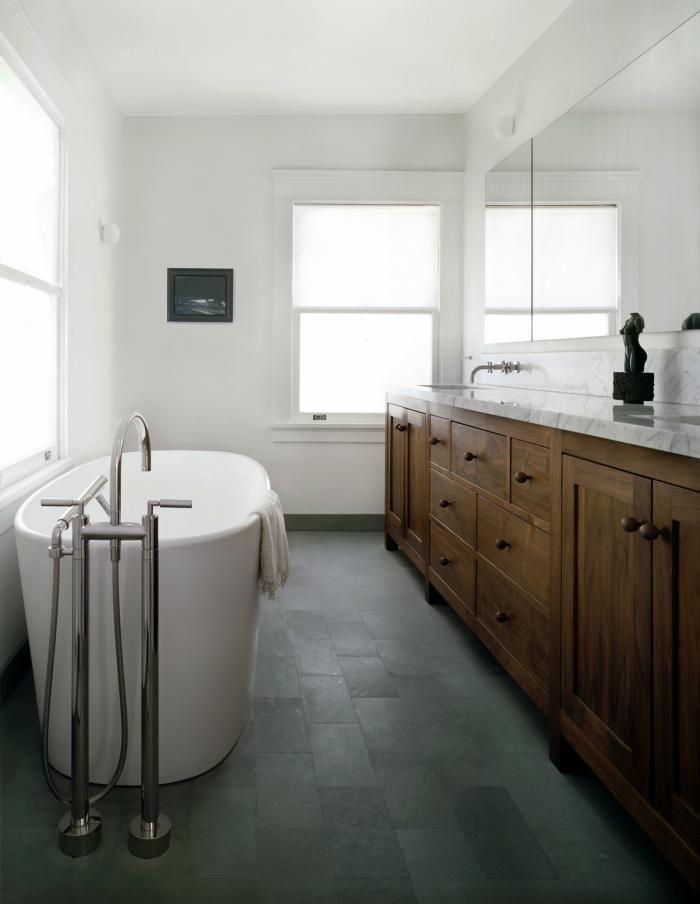 LA Bathroom Designed by Cynthia Carlson from Windows: Translucent Privacy Solutions