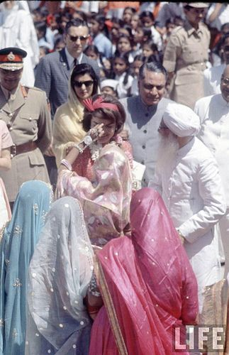 Jacqueline Kennedy's India visit