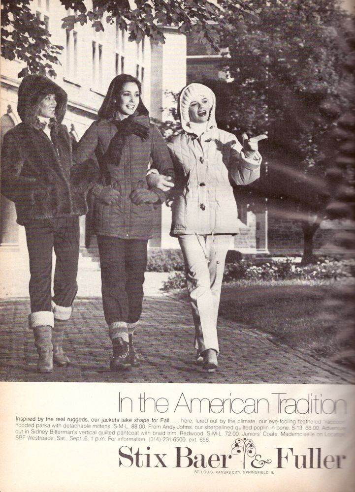 1980 Stix Baer & Fuller Department Store Print Advertisement Ad Vintage 80s | eBay