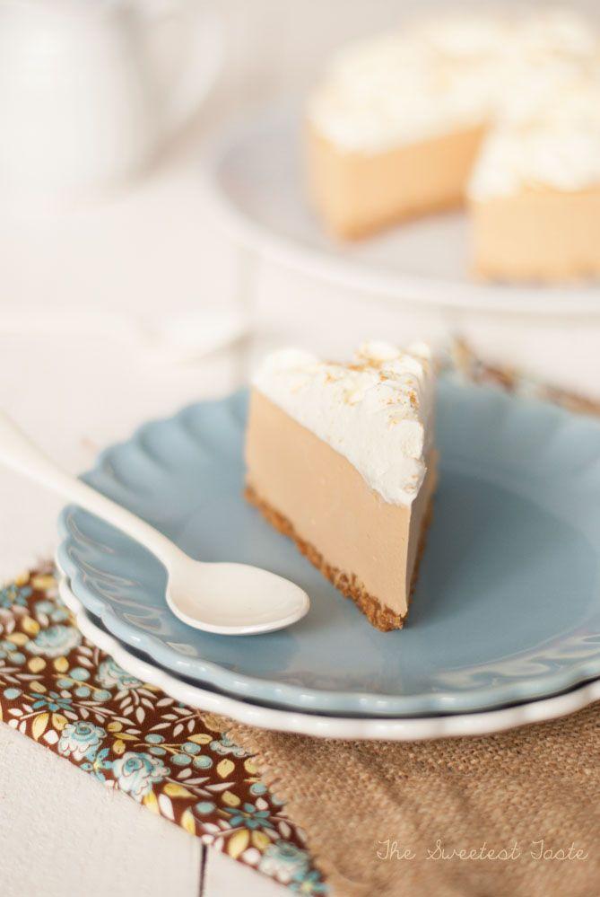 Tarta de queso y caramelo con especias
