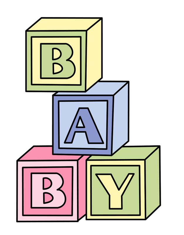 423 best babies stuff images on pinterest templates clip art rh pinterest com baby blocks clipart baby block clipart