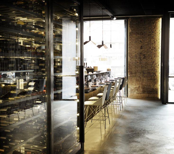 Bouet restaurant in valencia by ramón esteve estudio