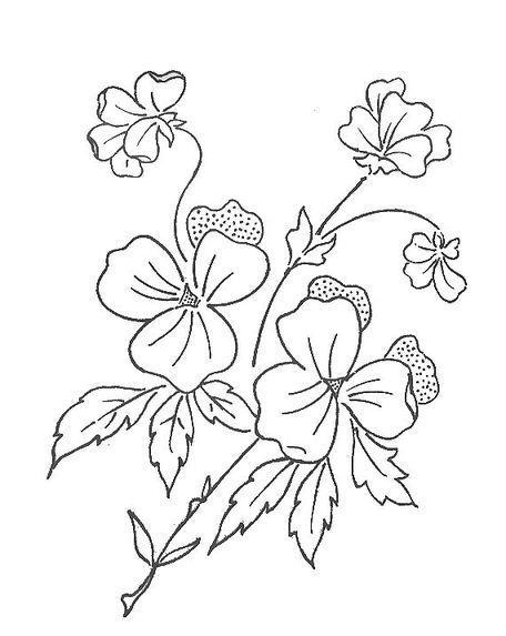 PATRONES PARA BORDADOS: PATRONES PARA BORDAR FLORES (2). GRATIS
