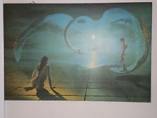 Stephen Pearson Wings of Love 1970's mounted print