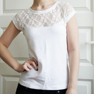 Lovely Lacy Tee
