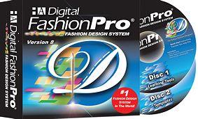 Digital Fashion Pro V8 Basic - Fashion Design Software. Design women's and men's t-shirts, pants and shorts.