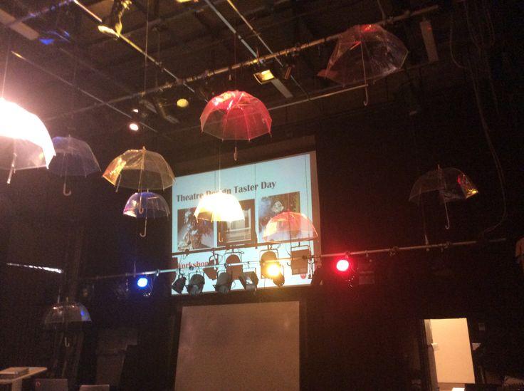 Lighting and Umbrellas!